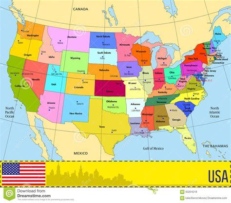 Mapa Eeuu Estados Y Capitales | My blog