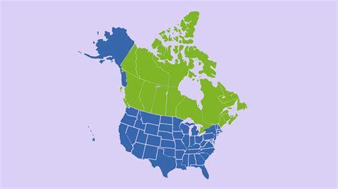 Mapa Eeuu Y Canada | My blog