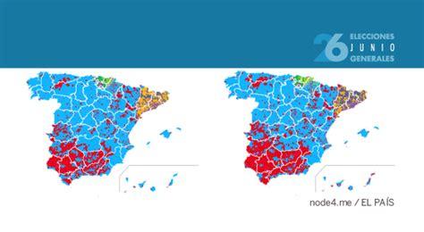 Mapa electoral de los resultados de las elecciones ...