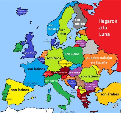 Mapa En Europa