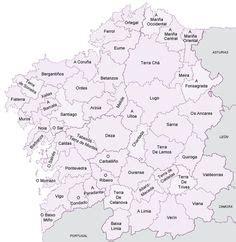 mapa FISICO GALICIA - Buscar con Google | Coñecemento do ...