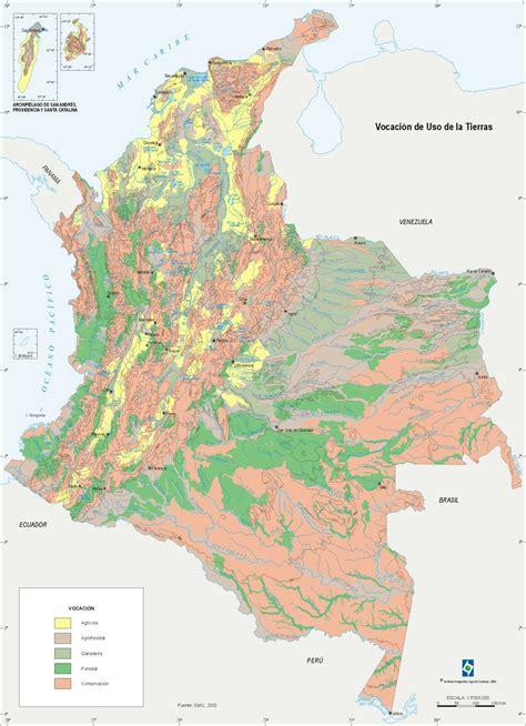 Mapa Geografico De Colombia