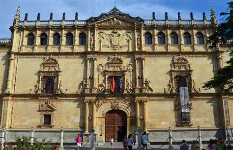 Mapa guia fachada renacentista Universidad Alcala