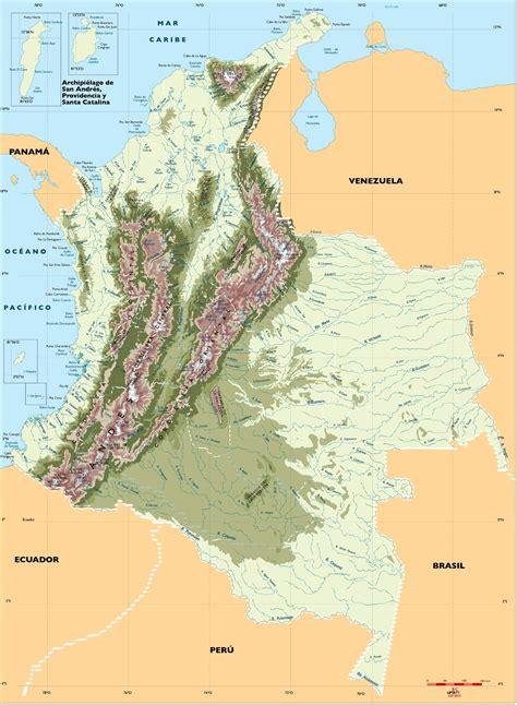 Mapa Hidrografico » Blog Archive Mapa Rios de Colombia