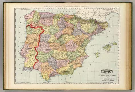 Mapa historico España, Portugal - mapahistorico.com