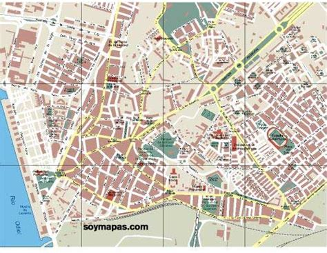 Mapa Huelva Capital | My blog