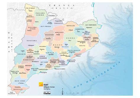 Mapa independencia cataluña
