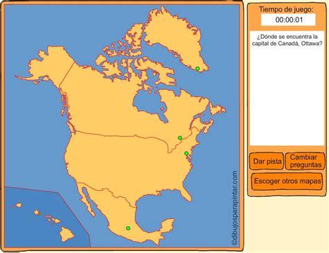 Mapa Interactivo De America Del Norte