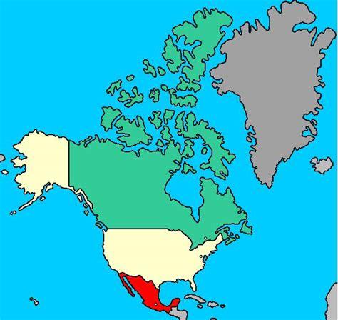 Mapa interactivo de América del norte: países y capitales ...