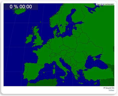 Mapa interactivo de Europa Europa: Países. Seterra - Mapas ...
