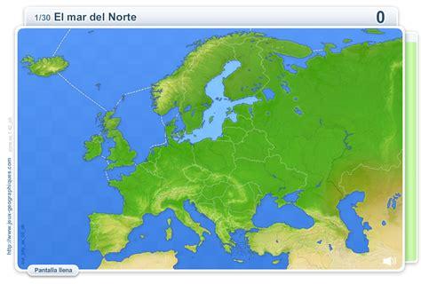 Mapa interactivo de Europa Geografía física de Europa ...
