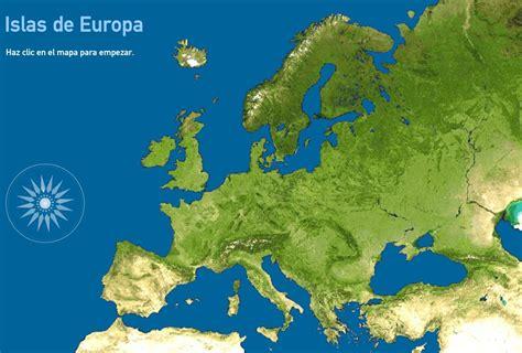 Mapa interactivo de Europa Islas de Europa. Toporopa ...