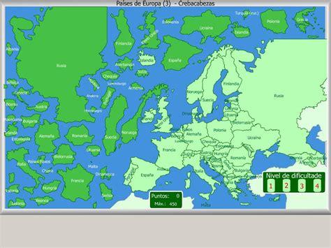 Mapa interactivo de Europa Países de Europa. Crebacabezas ...