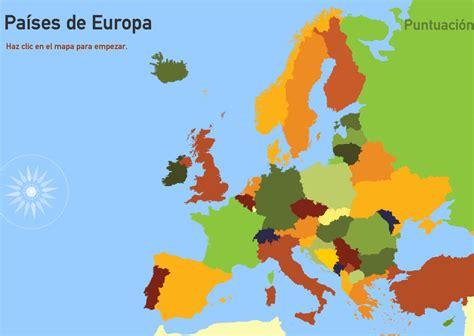Mapa interactivo de Europa Países de Europa. Toporopa ...