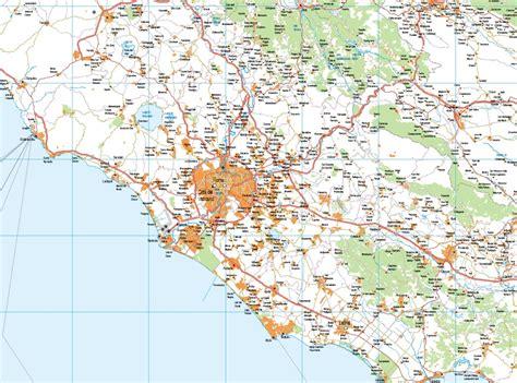 Mapa Italia Central   Envío mapas gratis en España penínsular