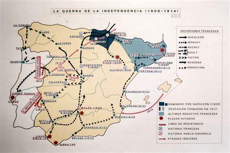 Mapa - La Guerra de la Independencia Española 1808-1814