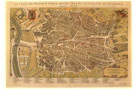 Mapa Madrid Antiguo - Conocer Madrid