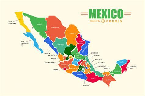 Mapa México Vector - Descargar vector