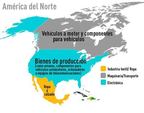 Mapa muestra las mayores exportaciones de todos los países ...