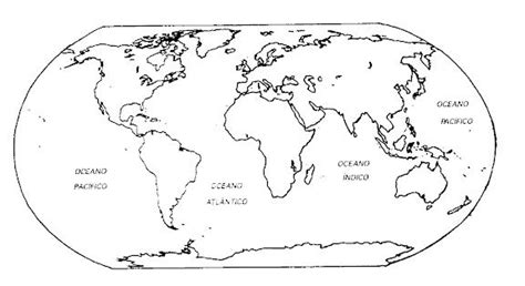 mapa mundi para colorear | Geography | Pinterest