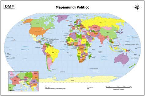 Mapa Mundi | threeblindants.com