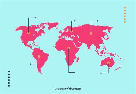 Mapa mundi vector - Download Vetores e Gráficos Gratuitos