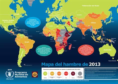 Mapa mundial del hambre: América Latina mejora sus niveles ...