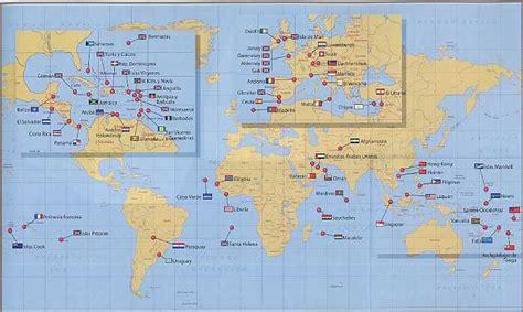 Mapa Mundial y Caracteristicas de los Paraisos Fiscales ...