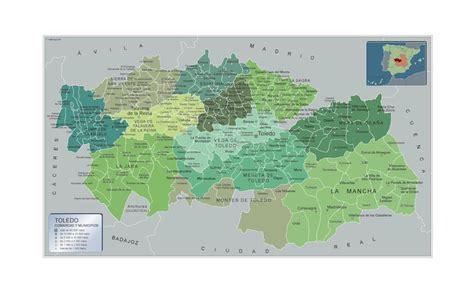 Mapa Municipios Albacete | Mapas Plastificados