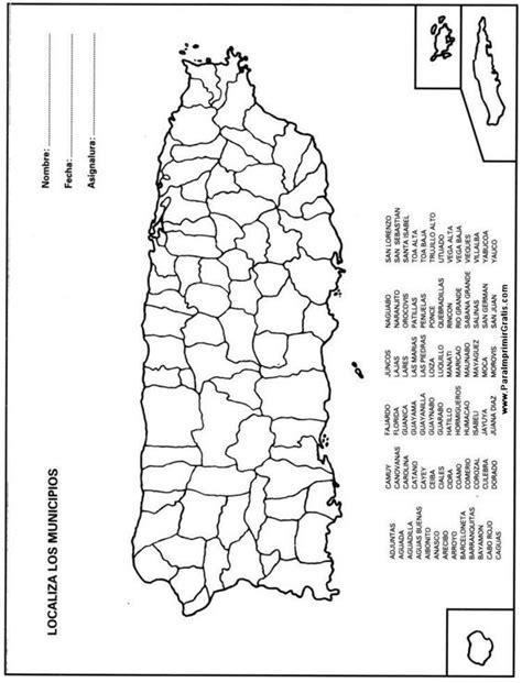 Mapa Municipios de Puerto Rico | Mapa de Puerto Rico ...