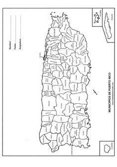 Mapa Municipios de Puerto Rico | mapas | Pinterest ...