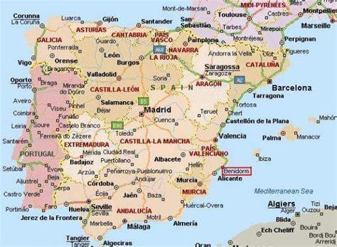 Mapa Peninsula Ibérica   Portal das Viagens