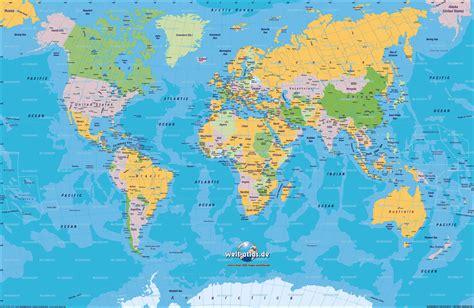 mapa planisferio politico con nombres   ALOjamiento de ...