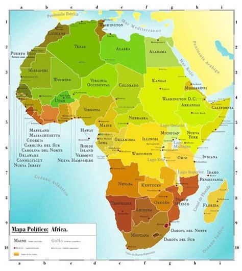 Mapa Politico De Africa | mapas | Pinterest | Africa