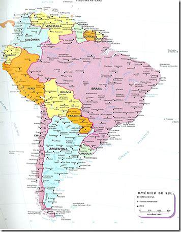 Mapa Político de América - LocuraViajes.com