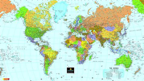 Mapa Politico del Mundo   mapa.owje.com
