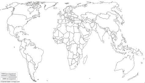 Mapa politico del mundo para colorear   Imagui