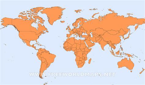 Mapa político del mundo – Freeworldmaps.net