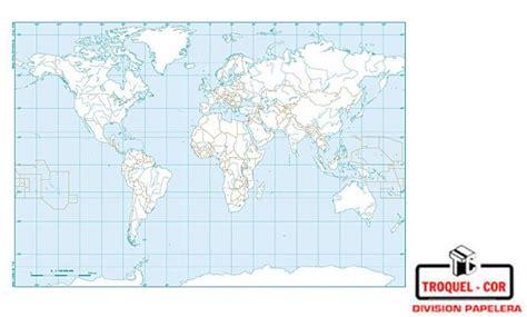 Mapa Político Nº3 Planisferio