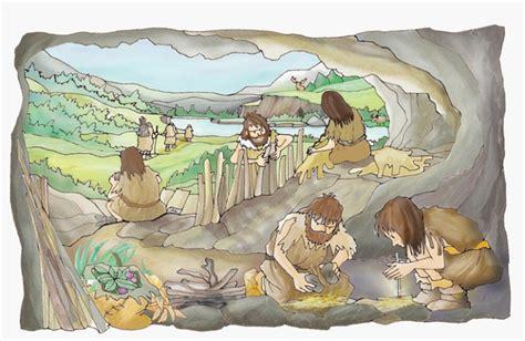 mapa prehistoria - ¿Cómo vivían nuestros antepasados?