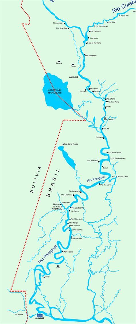 mapa rio paraguai   Ecoa