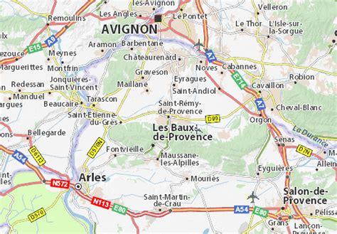 Mapa Saint-Rémy-de-Provence - plano Saint-Rémy-de-Provence ...