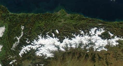 Mapa satelital de Asturias - Asturias