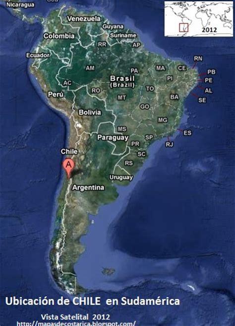 Mapa Satelital De Chile En Vivo