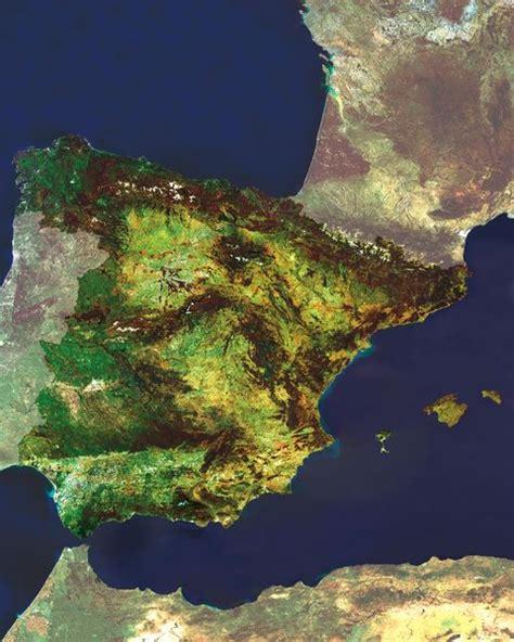 Mapa Satelital de España - España
