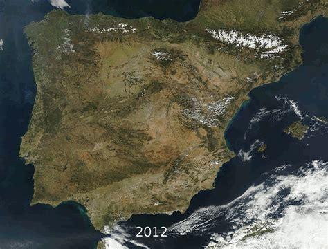 Mapa Satelital De España   threeblindants.com