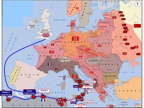 Mapa Segunda Guerra Mundial