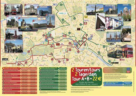 Mapa turístico de Berlim : monumentos e passeios