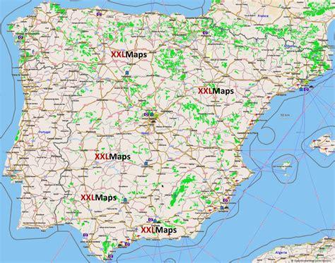 Mapa turístico de España   descarga gratuita para ...
