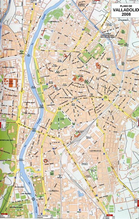 Mapa Valladolid Capital | My blog